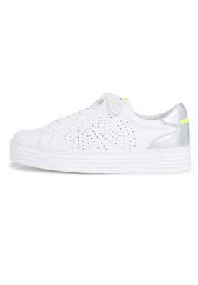 Tamaris 1-23788-24 197 Damen White Comb Weiss sportlicher Halbschuh Sneaker – Bild 3
