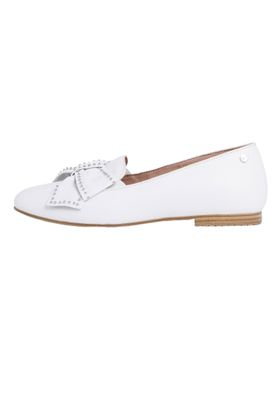 Tamaris 1-24229-24 113 Damen White Leather/Studs Weiss Leder Ballerina mit TOUCH-IT Sohle – Bild 5