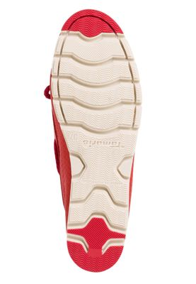 Tamaris 1-24604-24 500 Damen Red Rot Slipper Bootsschuhe mit TOUCH-IT Sohle – Bild 5