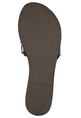 Tamaris 1-27127-34 392 Damen Cognac Comb Braun Pantolette Badeschuhe mit TOUCH-IT Sohle – Bild 3