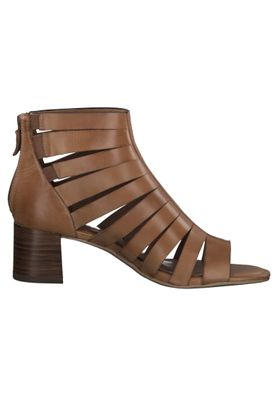 Tamaris 1-28394-24 305 Damen Cognac Braun Heeled Sandals Sandaletten mit TOUCH-IT Sohle – Bild 5