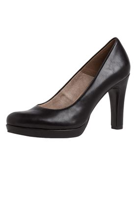 Tamaris 1-22426-24 020 Damen Black Matt Schwarz Plateau Pumps High-Heel mit TOUCH-IT Sohle – Bild 1