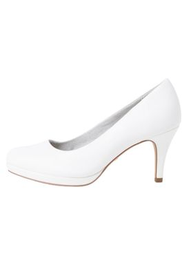 Tamaris 1-22444-24 140 Damen White Matt Weiss Pumps mit TOUCH-IT Sohle – Bild 4