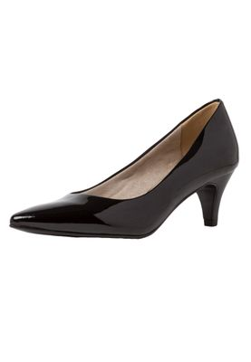 Tamaris 1-22495-34 018 Damen Black Patent Schwarz Pumps mit TOUCH-IT Sohle – Bild 2