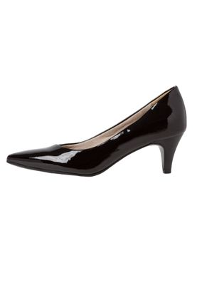 Tamaris 1-22495-34 018 Damen Black Patent Schwarz Pumps mit TOUCH-IT Sohle – Bild 6