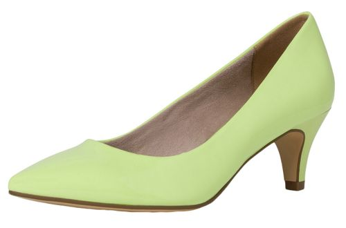 Tamaris 1-22495-34 746 Damen Lime Patent Hellgrün Pumps mit TOUCH-IT Sohle – Bild 1