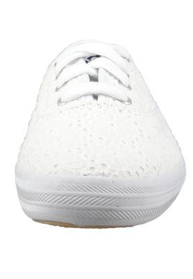 Keds Schuhe Damen Sneaker WF62441 Champion Daisy Eyelet Canvas Weiss White  – Bild 3