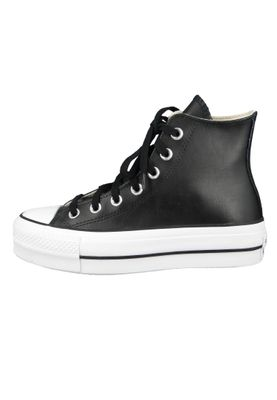 Converse Chucks Plateau Schwarz 561675C Chuck Taylor All Star LIFT - OX Black/Black/White – Bild 6