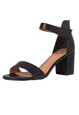 Marco Tozzi Damen Sandale Sandalette Leder Schwarz Black 2-2-28309-24 001 – Bild 2