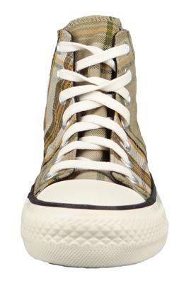 Converse Damenschuhe-Sneaker 568925C Chuck Taylor All Star HI Textil braun Nomad Khaki Black – Bild 6