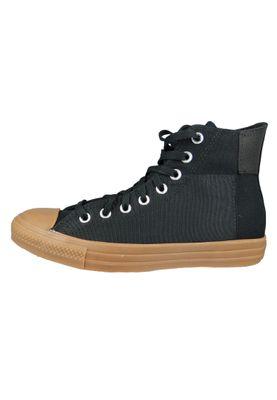 Converse Herrenschuhe-Sneaker 168826C Chuck Taylor All Star HI Textil schwarz Black Black Honey – Bild 4