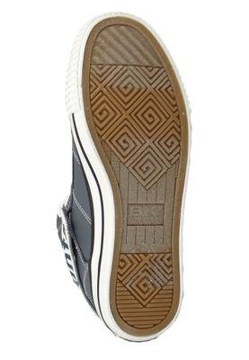 British Knights Roco B46-3701-01 Damen Sneaker High Kunstleder Schwarz DK Grey Fuchsia – Bild 7