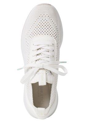 Tamaris Tavia Fashletics 1-23714-24 Damen Sneaker Low Textil Weiß 100 White – Bild 5