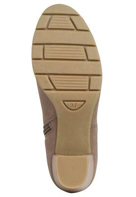 Marco Tozzi  2-25355-34 Damen Stiefelette Elegant Textil Beige 341 Taupe – Bild 2