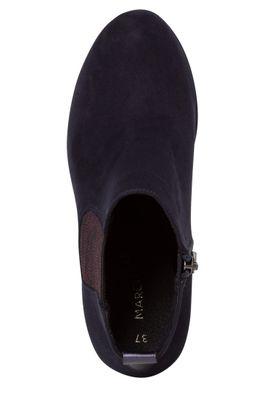 Marco Tozzi  2-25355-34 Damen Stiefelette Elegant Textil Blau 840 Dk. Navy – Bild 5
