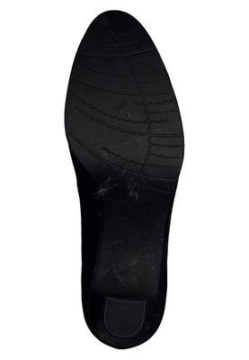 Marco Tozzi PREMIO 2-2-22400-35 Damen Pumps Klassisch Leder Schwarz 002 BLACK ANTIC – Bild 2