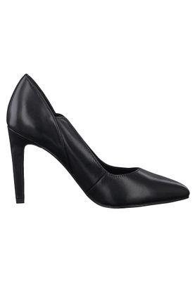 Marco Tozzi PREMIO 2-2-22406-35 Damen Pumps High Heels Leder Schwarz 002 BLACK ANTIC – Bild 4