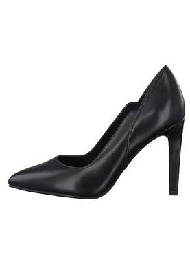 Marco Tozzi PREMIO 2-2-22406-35 Damen Pumps High Heels Leder Schwarz 002 BLACK ANTIC – Bild 5