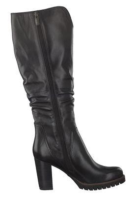 Marco Tozzi PREMIO 2-2-25631-25 Damen Stiefel Elegant Leder Schwarz 002 BLACK ANTIC – Bild 3