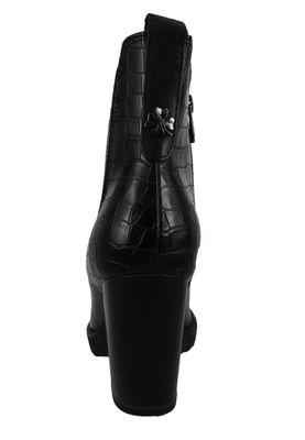 Marco Tozzi by GMK Guido Maria Kretschmer 2-2-85401-25 Damen Stiefelette Elegant Leder/Synthetik Schwarz 096 BLACK ANT.COMB – Bild 3