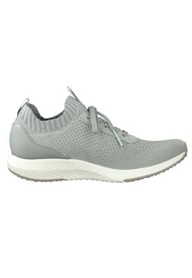 Tamaris Damen Low Sneaker Fashletics 1-23714-25 Grau 240 STEEL GREY Textil/Synthetik mit Removable Sock – Bild 5