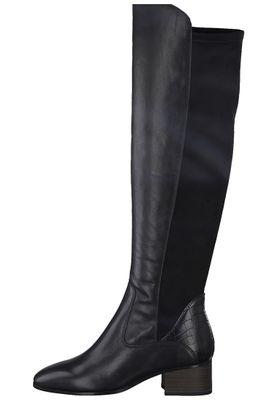 Tamaris Damen Elegante Stiefel 1-25518-25 Schwarz 001 BLACK Leder/Synthetik mit TOUCH-IT & A.slide/A.shokk Absatz – Bild 5