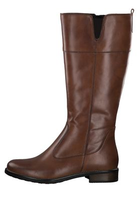 Tamaris Damen Elegante Stiefel 1-25542-25 Braun 455 CUOIO Leder – Bild 5