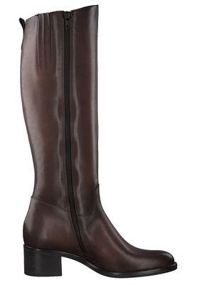 Tamaris Damen Elegante Stiefel 1-25569-25 Braun 361 CAFE Leder – Bild 3