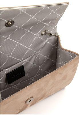 Tamaris Clutches Handtasche  Amalia 30457 Grau 900 taupe Polyester L= 7 cm H= 7 cm W= 13,5 cm – Bild 5