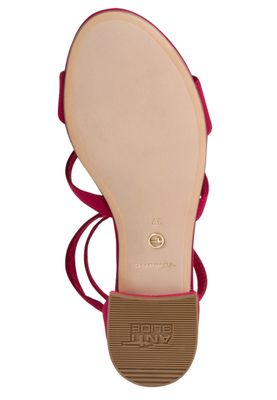 Tamaris Damen Römer-Style Sandalen Sandaletten 1-28102-24 Rot 515 Lipstick Textil mit TOUCH-IT – Bild 3