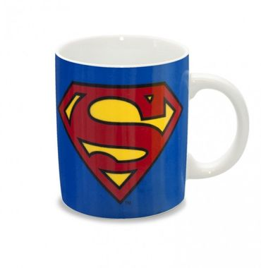 Superman Logo Tasse Blau ca. 300ml – Bild 2