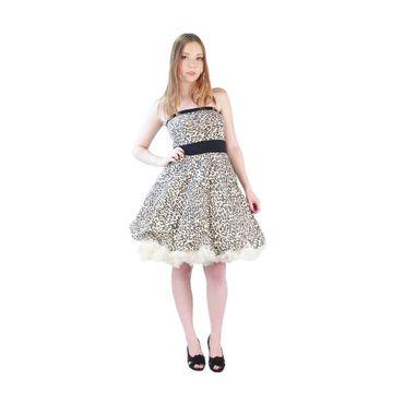 Rockabilly Zebra Sommer Kleid – Bild 1