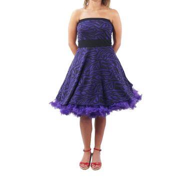 Rockabilly Leopard Sommer Kleid – Bild 2