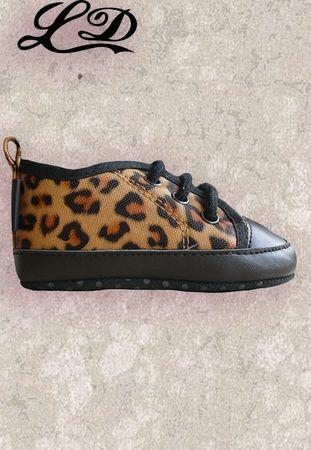 Leoparden Babysneaker