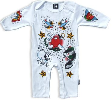 Six Bunnies Lucky Sailor Bunny Jumpsuit – Bild 1