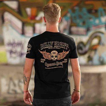 Billy Eight - Original Racer T-Shirt Schwarz M   – Bild 3