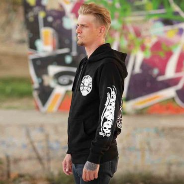 Billy Eight Kapuzenjacke Unisex Since 1955 Logo – Bild 3