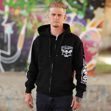 Billy Eight Kapuzenjacke Unisex Until da Death Logo – Bild 1