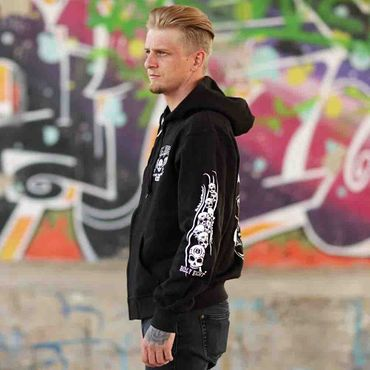 Billy Eight Kapuzenjacke Unisex XXX Logo – Bild 2