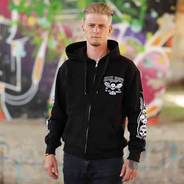 Billy Eight Kapuzenjacke Unisex XXX Logo