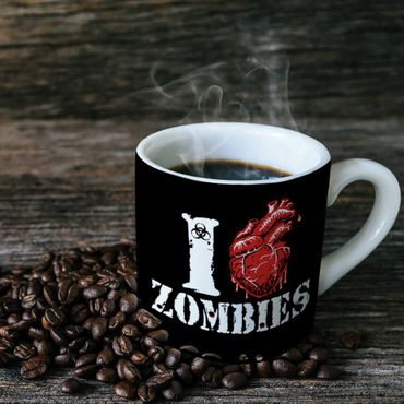 I Love Zombies Tasse – Bild 1