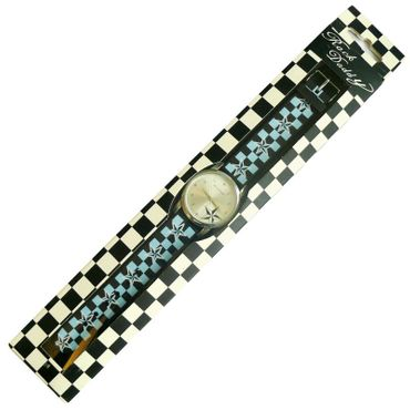 Nautischer Stern Gummi Armbanduhr