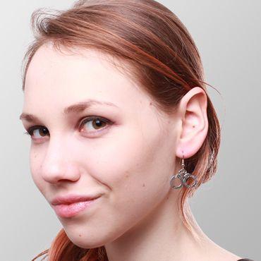 Handschellen Ohrringe – Bild 2