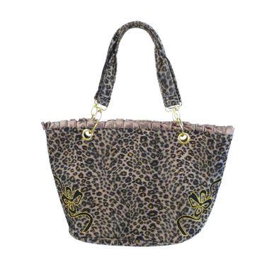 Leopard Vintag Handtasche – Bild 2