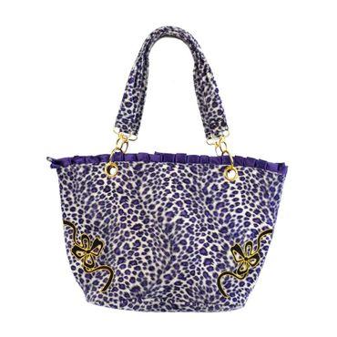 Fancy Leopard Vintag Retro Handtasche – Bild 3