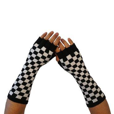59097-141 Lange fingerlose Handschuhe – Bild 2