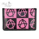 22267-025 Geldbeutel - schwarz/pink 001