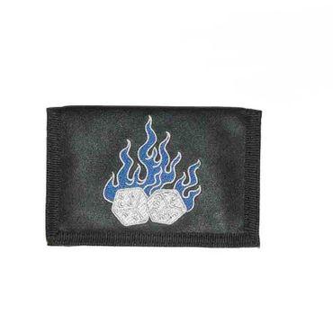 Geldbörse mit Flammen Würfel – Bild 2
