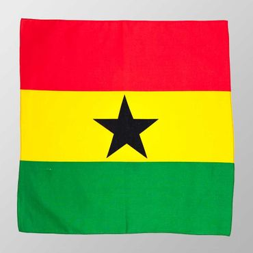 Bandana Ghana Flagge  – Bild 2