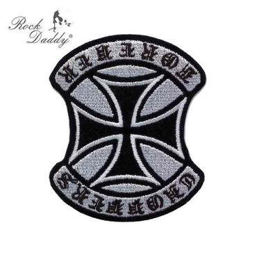 Choppers Forever Kreuz Patch